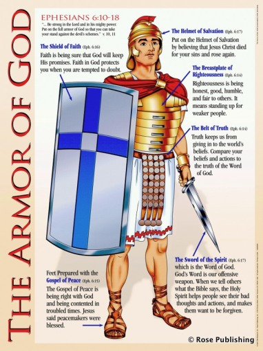 Image result for image of god's armor