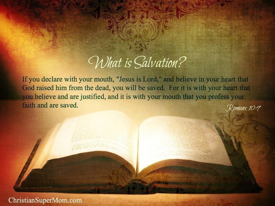 Prayer of Salvation – God's HotSpot