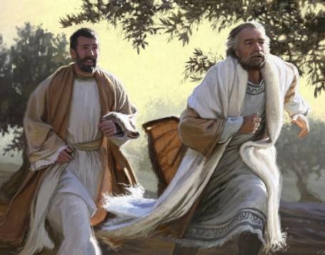 Dimanche 02 juin 2019/Septième dimanche de Pâques Peter_and_john_painting_blog1