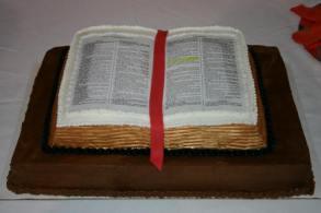 Bible Grooms Cake
