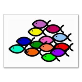 christian_fish_symbols_school_in_rainbow_colors_business_card-p240775786184308615qs8j_300