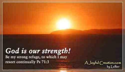 god-is-our-strength