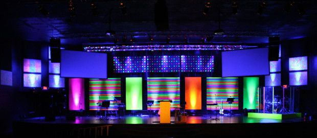 Emejing Church Stage Design Ideas For Cheap Ideas Mericamedia Us . Church  ...