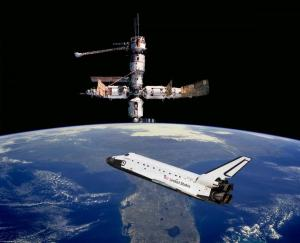 shuttle-spacestation