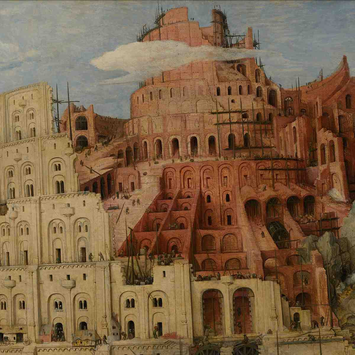 the tower of babel According to the account in genesis, the events surrounding the building of the tower of babel represent a crucial point in history is there additional background information and.