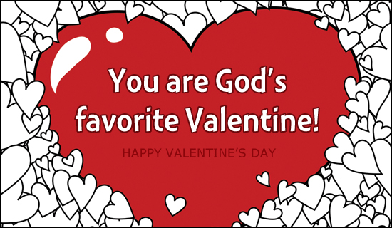 God's Valentine Gift is Christ – God's HotSpot