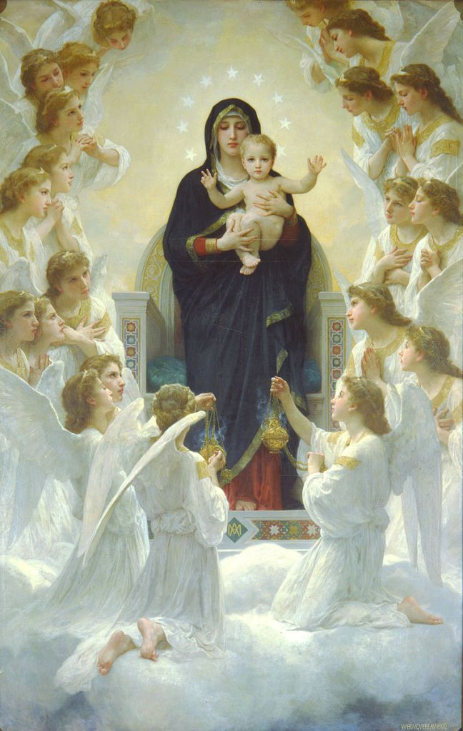 758px-Bouguereau_The_Virgin_With_Angels