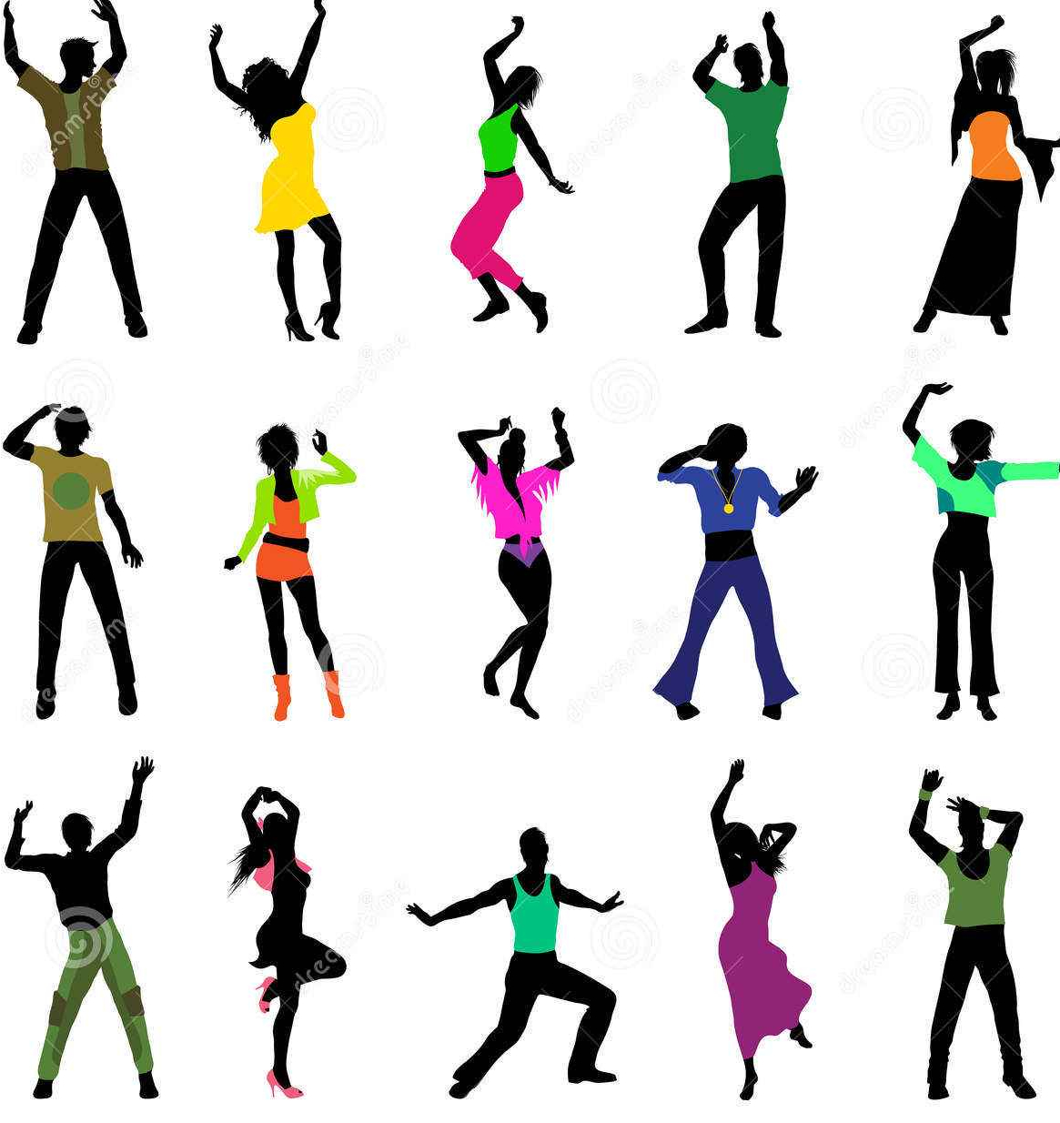 dancing-people-silhouettes-20419883