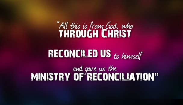 jesus christ and reconciliation Resurrection, reconciliation, restoration more than that, we also rejoice in god through our lord jesus christ, through whom we have now received reconciliation restoration.