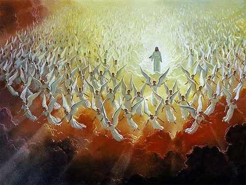 CHRIST ANGELS ASCENDING Gods HotSpot – Angels Announce the Birth of Jesus