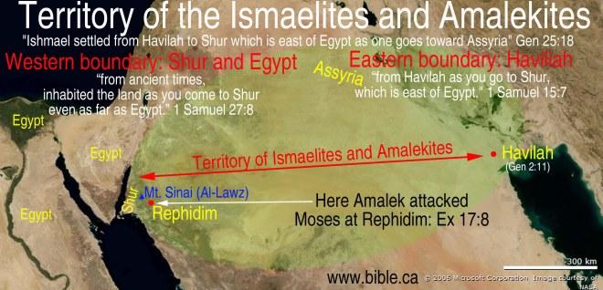 maps-bible-archeology-exodus-ishmaelites-amalekites