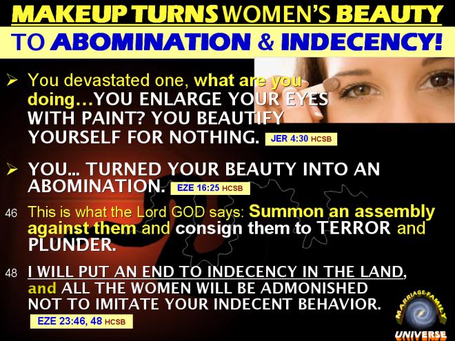 MAKEUP TURNS WOMEN'S BEAUTY