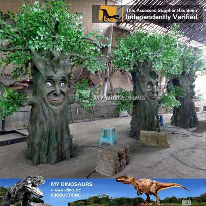 My_dino_outdoor_playground_fiberglass_tree_sculpture