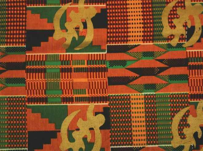 African Kente Fabric GOLD.jpg
