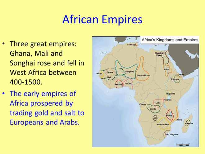 a description of the fall of the west african empires African kingdoms and empires during 400 ad, west africa witnessed the rise and fall of the indigenous medieval empires of ancient ghana, medieval mali, and songhai many other states and kingdoms arose during this time but ghana, mali and songhai achieved the status of fully-fledged, functioning and long-living conquest states and expansionist empires.