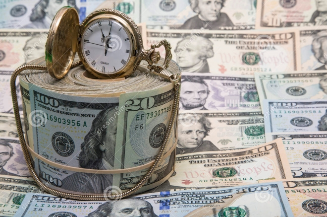 american-money-gold-watch-background-concept-wealth-fiscal-savings-banknotes-displayed-paper-currency-37278426