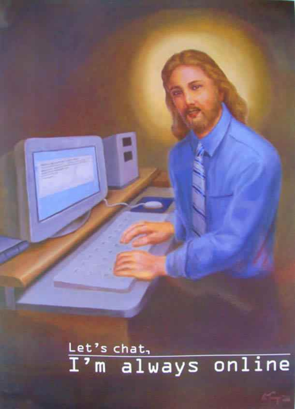 jesus-is-always-online