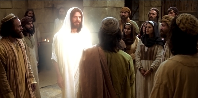 Image result for image of jesus appearance to five hundred