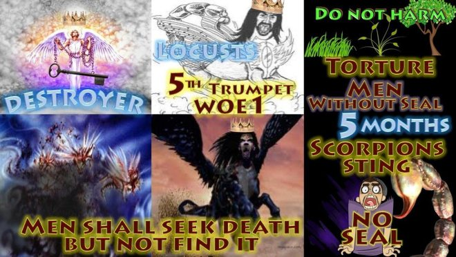 Fifth-Trumpet-Second-Woe-Abaddon-Apollyon-Locusts-Torture-Five-Months-Seven-Trumpets-Revelation