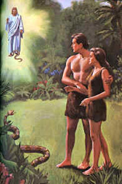 satan bruise Adam Eve