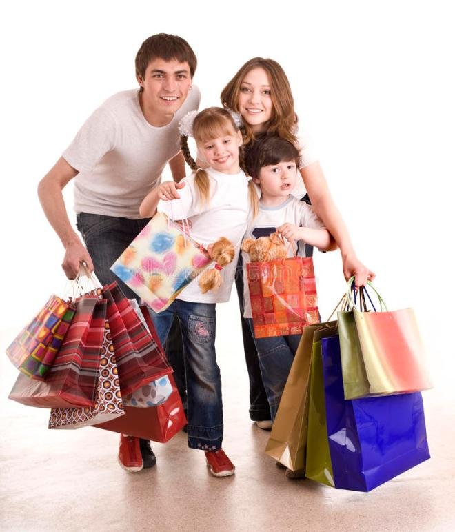 happy-family-children-shopping-11079356