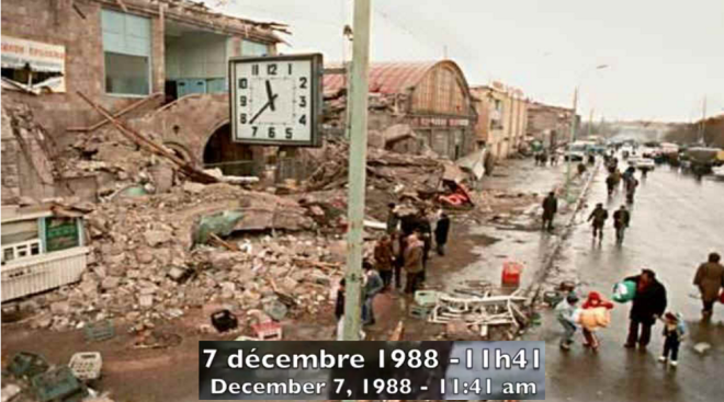TERREMOTO DE ARMENIA- 7-12-1988