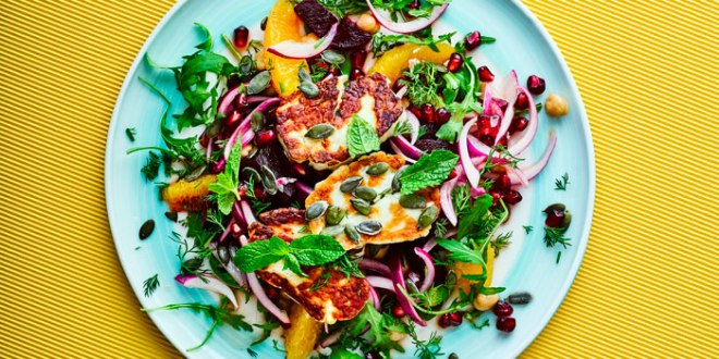 beetroot-halloumi-salad-with-pomegranate-dill-700-350