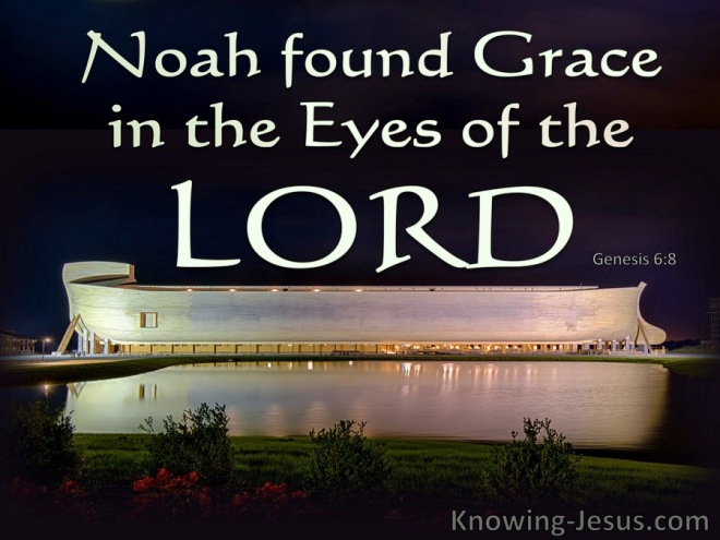 Genesis 6-8 Noah Found Grace In The Eyes Of The Lord green