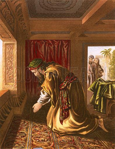 Daniel praying