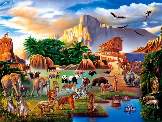 BOZZINSIEME DI ANIMALI(A