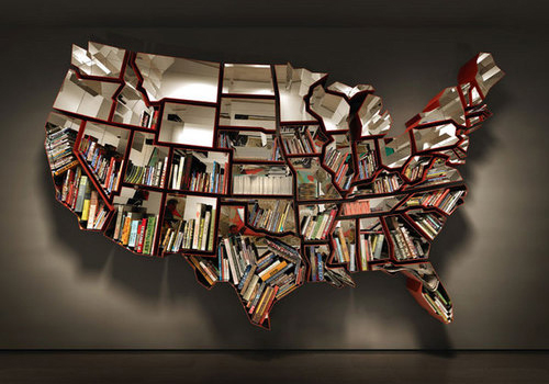 United-States-Bookshelf-by-Ron-Arad